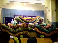 21有福の石見神楽の大蛇フォーメーション