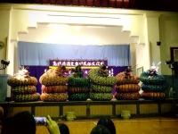 21有福の石見神楽の大蛇フォーメーション1