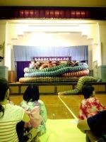 21有福の石見神楽の大蛇フォーメーション2