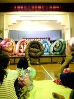 21有福の石見神楽の大蛇フォーメーション3