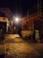 23夜の有福温泉の明かり