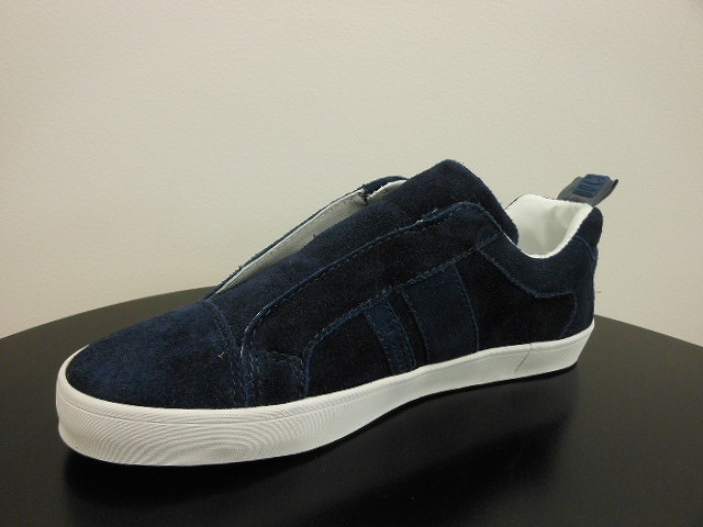 C2120004 NAVY COW SUEDE