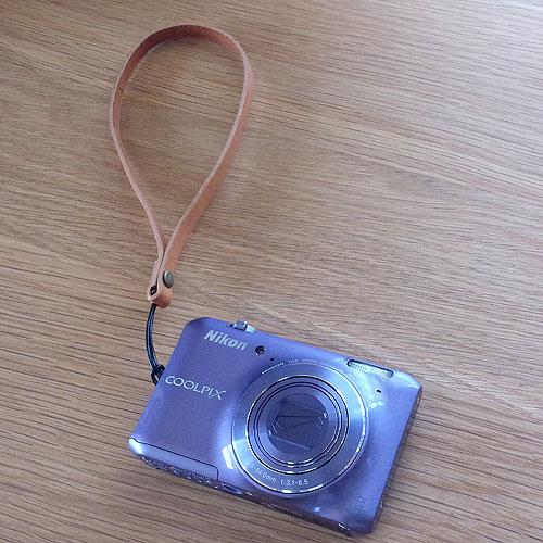 革 カメラストラップ