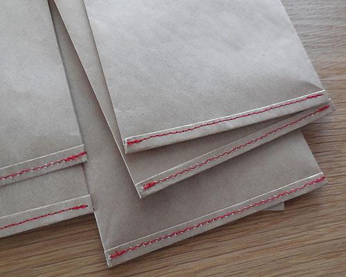 ミシンステッチ紙袋