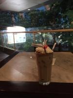 ブロックMの喫茶店でミロ