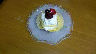Y子さん作・おひとり様ローカーボショートケーキ