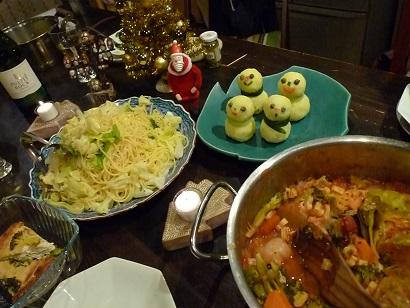 クリスマス夕飯3