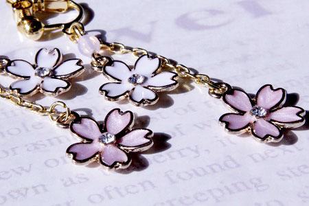 桜イヤリング20150225 (8) - コピー