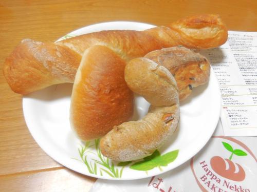 はっぱねっこのパン