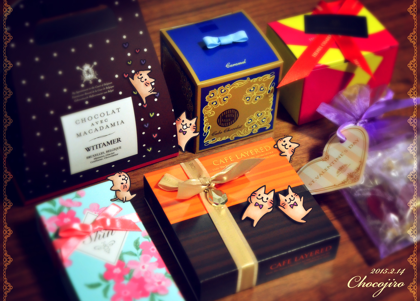 チョコレートとちょこじろーの世界
