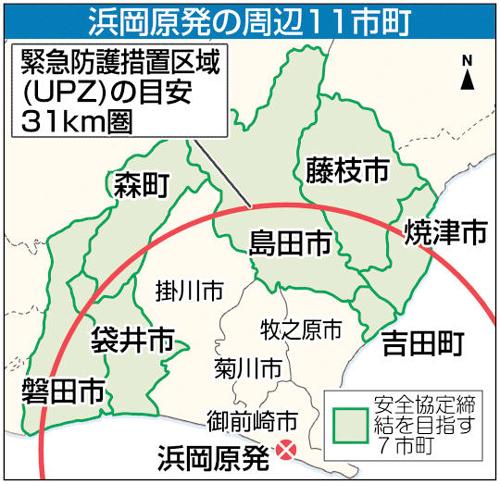 浜岡原発UPZ圏-1