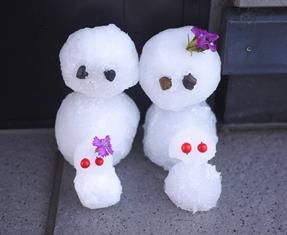雪だるま141228