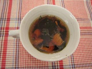 簡単きのこの中華スープ