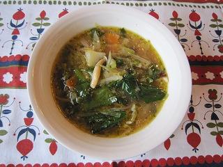 冬のあったかしみじみスープ
