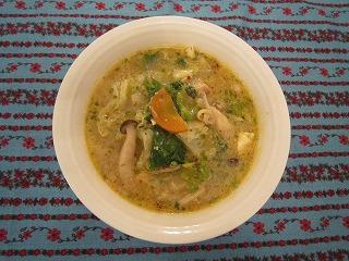 ヤンゴンのみそ鍋