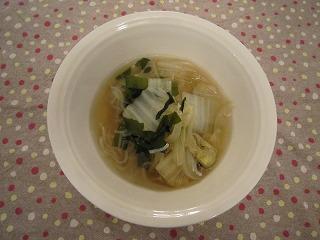 玉ネギおばさんのコトコト白菜スープ