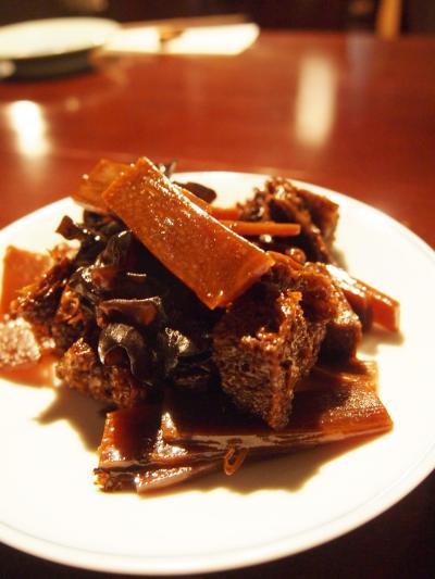 乾燥豆腐炒め(安妟)