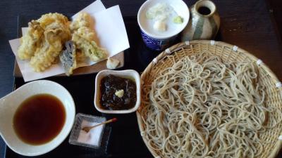 日替わり天ぷら蕎麦(佳蕎庵)