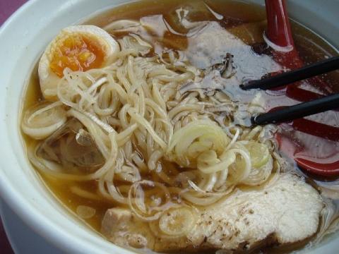 なおじ柏崎店・H27・7 冷しラーメン 麺