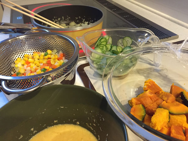 夕食準備1