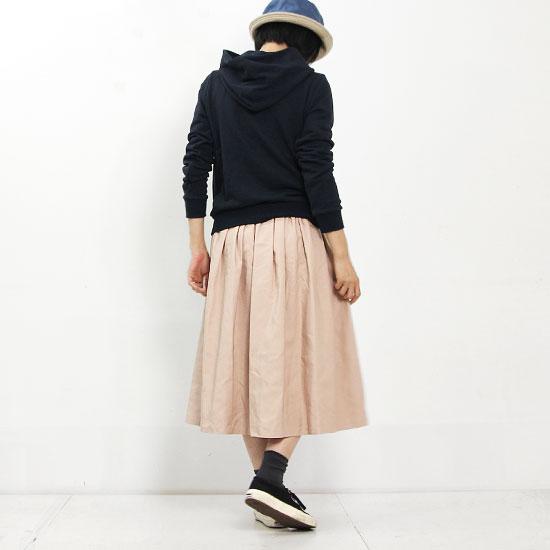 dahl'ia(ダリア) ポリエステルギャザーロングスカート