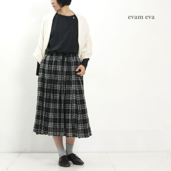 evameva (エヴァムエヴァ) Cotton wool 2way stole