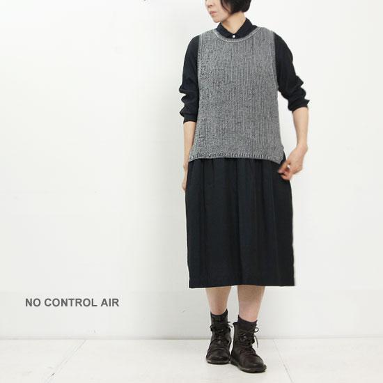 NO CONTROL AIR (ノーコントロールエアー) キュプラコットンカルゼギャザーワンピース