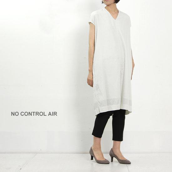 NO CONTROL AIR (ノーコントロールエアー) キュプラコットンカルゼフレンチスリーブワンピース