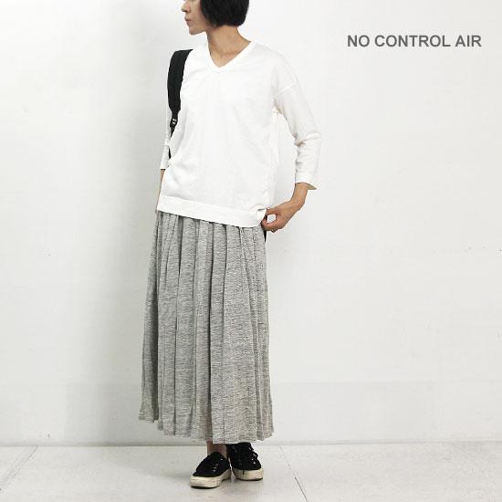 NO CONTROL AIR (ノーコントロールエアー) コーマコットン天竺カットソー WOMEN