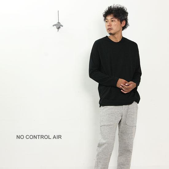NO CONTROL AIR(ノーコントロールエアー) コーマコットン天竺カットソー MEN