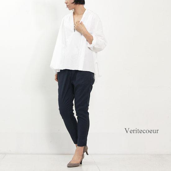 Veritecoeur (ヴェリテクール) サブリナストレッチパンツ