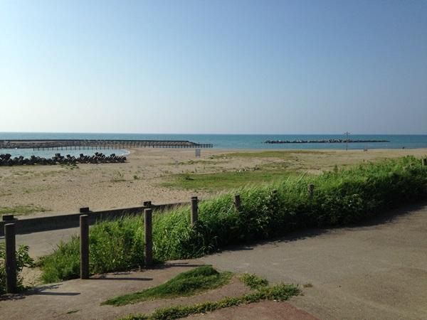 白山の海岸