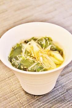 簡単中華ワカメスープ
