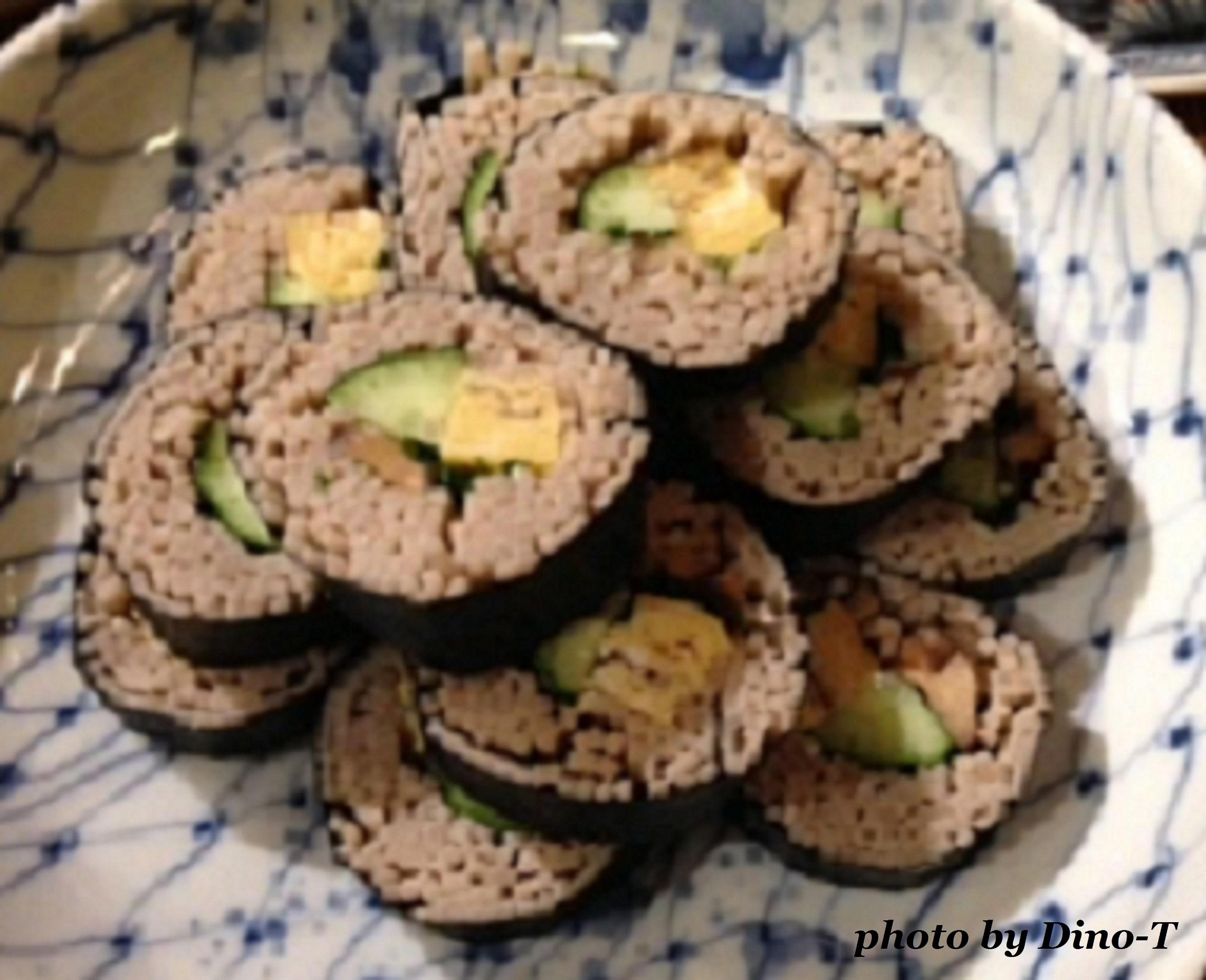 蕎麦巻き寿司1