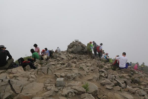 磐梯山、おい、予報はずれじゃねーか!