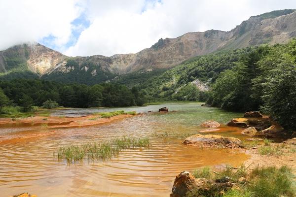 磐梯山赤沼。