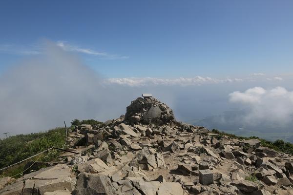 磐梯山 晴れをゲット