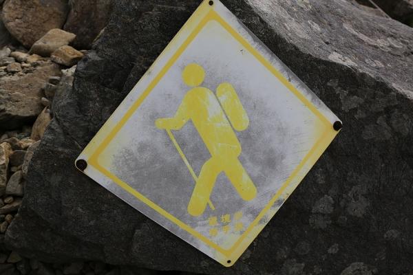 登山道マーク?