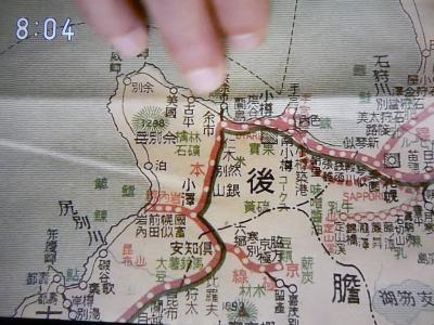 マッサン鉄道地図
