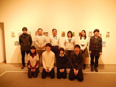 仲間たち展2015展示メンバー