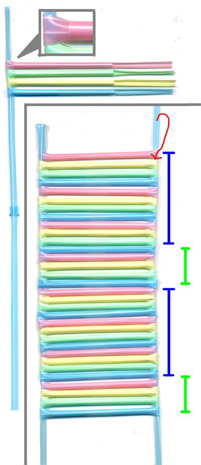 ストローで箱 作り方3