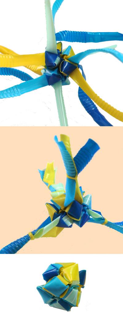 三角玉でサイコロの形 2