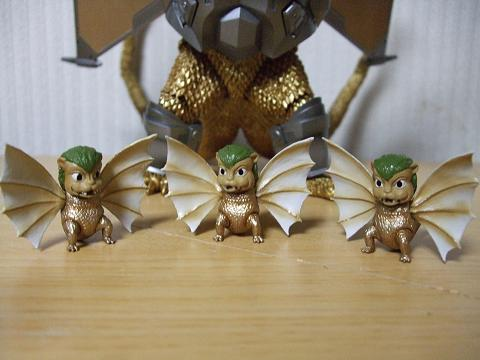『ゴジラ』のフィギュア~S.H.MonsterArts 「メカキングギドラ」(9)
