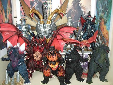 『ゴジラ』のフィギュア~S.H.MonsterArts 「メカキングギドラ」(10)