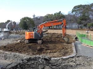 天王子公園修復工事blog02
