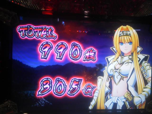 20150303_戦国乙女 ~剣戟に舞う白き剣聖~ まずますの出玉