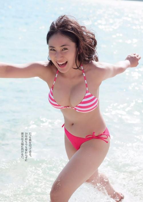 紗綾 Fカップ グラビア セミヌード 08