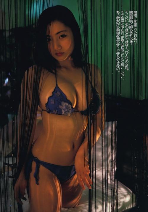 紗綾 Fカップ グラビア セミヌード 15