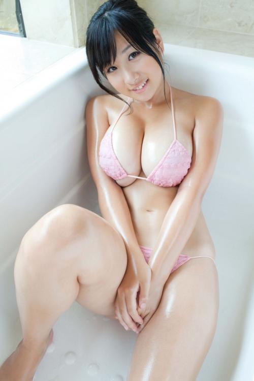 水着 ビキニ 巨乳 さんかくビキニ 39