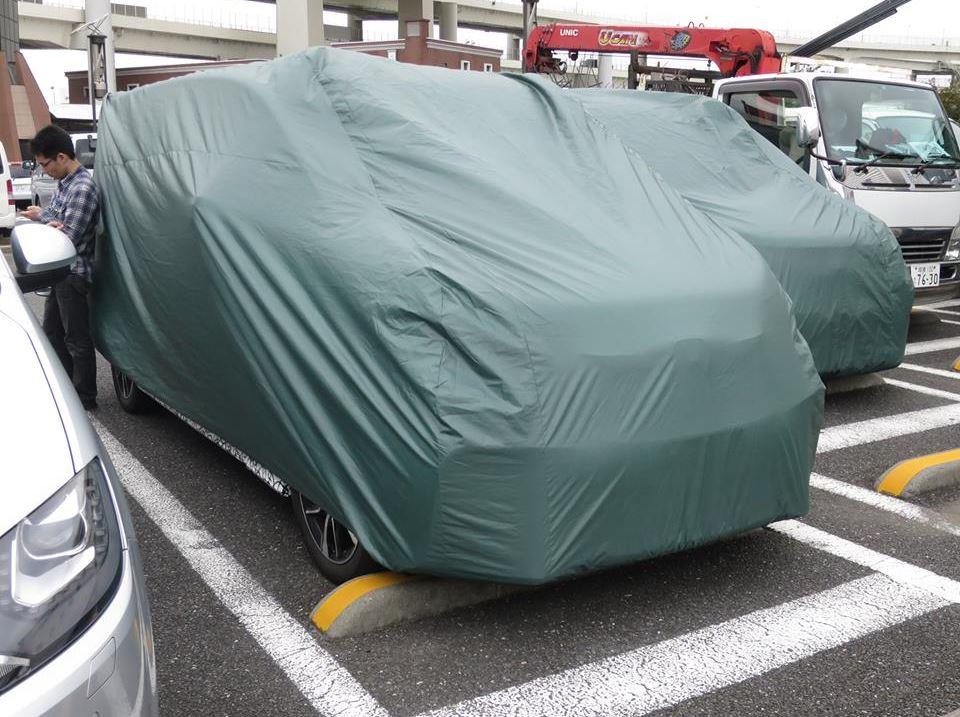 新型ステップワゴン 開発テスト車両4